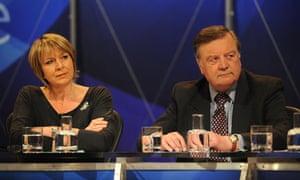 Fern Britton on Question Time - London