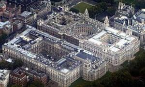 Whitehall departments