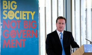 David Cameron delivers a speech at The Conservative Party Big Society conference, London, March 2010