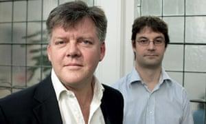 David Hutchinson (left) and Toby Eccles