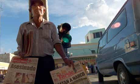 The US 'war on drugs' is failing to contain the drugs-related violence in Nuevo Laredo, Mexico.