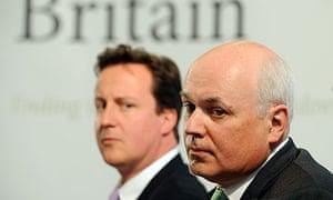 David Cameron and Iain Duncan Smith