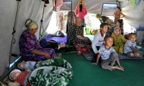 Ethnic Uzbek women