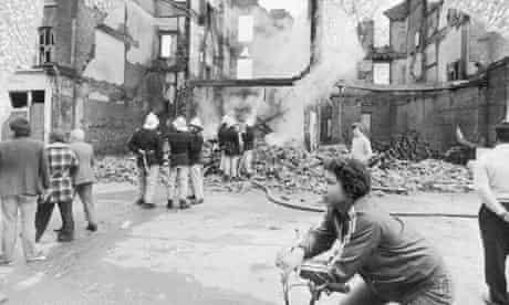 Brixton riots aftermath 1981