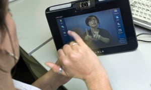 deaf webcam