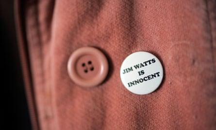 Jim Watts is innocent badge
