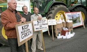 Anti-Gypsy protest, Meriden, Warwickshire