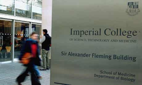 Imperial College London's school of medicine.