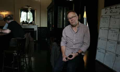 Phil Nice, quizmaster at the Telegraph pub in New Cross Gate, south London