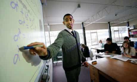 Training to be a teacher
