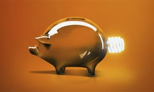 Coin Bank with Light Bulb Tail