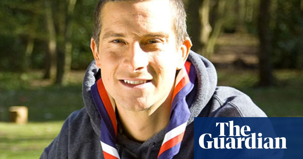 Image result for bear grylls and scouts