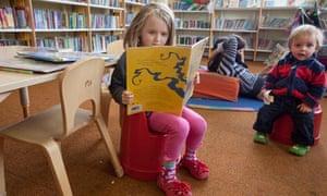Children at Crofton Park library, Lewisham