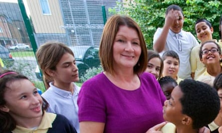 Patricia Davies, head of Chingford Hall primary school, Chingford, was named headteacher of the year