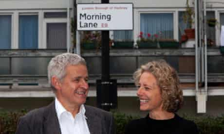 Steve Goodman and Isabelle Trowler, directors of Morning Lane Associates