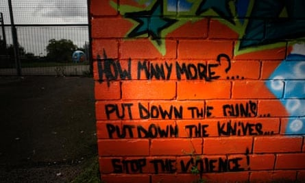 A memorial dedicated to a young person gunned down in Sheffield