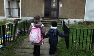 Deprived Areas Of Inner City Glasgow
