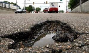 Capital Improvement Program budget for street repaving - Memphis