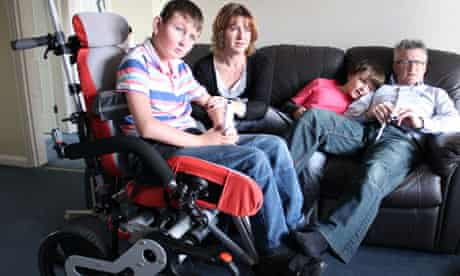 Carers - William who has cerebral palsy and his family