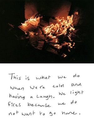 Joseph Rowntree: Hillside fire