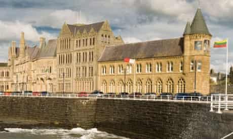 Old College Aberystwyth University Wales UK