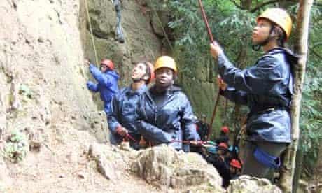 National Citizen Service outdoor activities