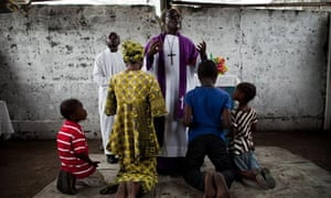 Children accused of sorcery are exorcised