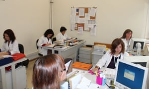 Social workers at a Portuguese cancer hospital