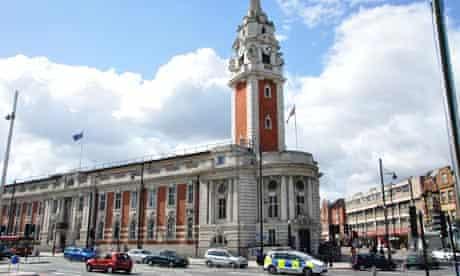 Lambeth Town Hall, Brixton Hill