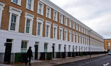 New social housing in Union Square, north London