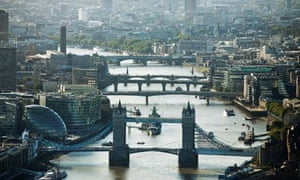 London river skyline