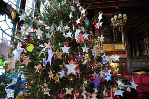 Scope's wish tree: The tree decorated with 'wish stars'