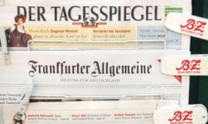 German language newspapers