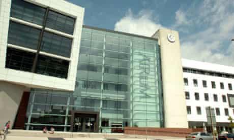 University Of Glamorgan atrium, Cardiff city centre