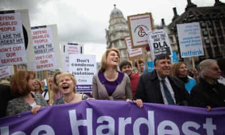 The Hardest Hit protest in May 2011