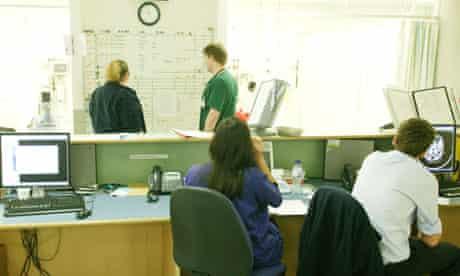 Hospital A&E department