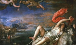 Titian's Rape of Europa. Some argue that medical courses should include poetry, music and art.