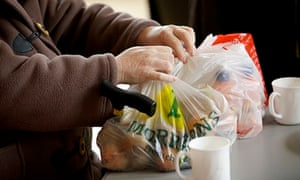 Food banks are evidence of communities getting together to try to help their neighbours