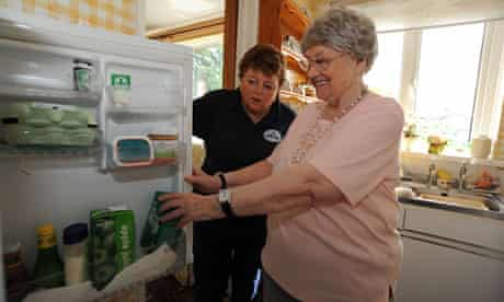Council Homecare Staff enable elderly and disabled people to live in their own homes