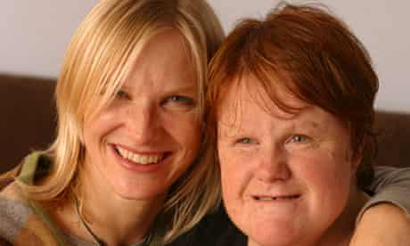 Jo Whiley and her sister Frances