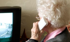 Woman making phonecall