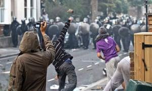 London riots, summer 2011