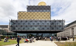 More than half the staff of Birmingham's showpiece new library are set to lose their jobs.