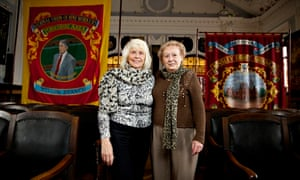 Anne Scargill and Betty Cook