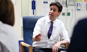 Ed Miliband visits Leighton hospital in Crewe