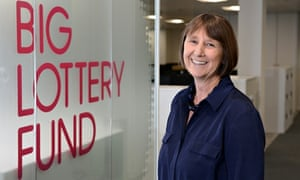 'We won't fund books' – Dawn Austwick emphasises that the Big Lottery cannot replace state funding.