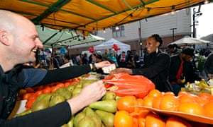 """Allison Vitalis says the Rose vouchers are """"really beneficial"""", allowing her to buy fruit and vegetables locally for her young daughter Photograph: Hackney Today/Hackney council"""