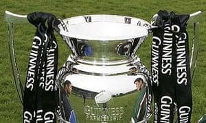 Guinness Premiership trophy