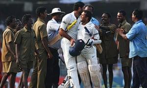 Youvraj Singh and Sachin Tendulkar