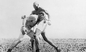 Jack Johnson in the Ring with James Jeffries